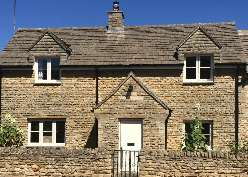 Heritage Flush windows are equally well placed in a period country cottage to a modern housing development.