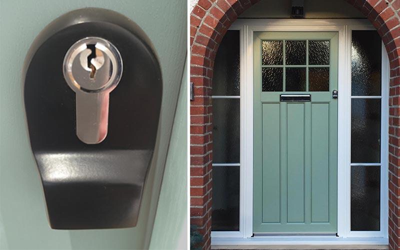 Heritage Door - Finger Pull Option