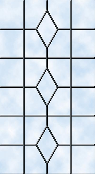 Heritage Door Glazing - Lead Patterns