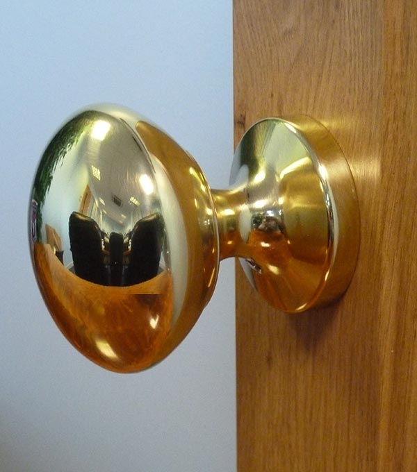 Heritage Collection - Brass Dome Knob