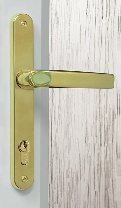 Brass Heritage Door Handle