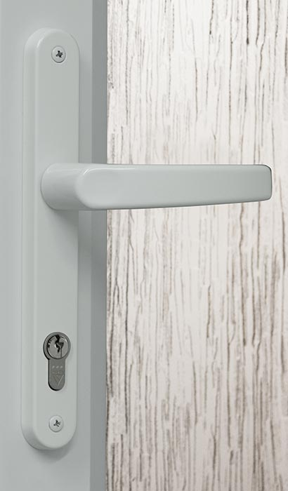 White Heritage Door Handle